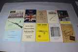 Lot of 11 Vintage Commercial & Military Gun Guides, Catalogs, Handbooks, and Instruction Manuals.