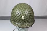 Reproduction US WW2 506th Airborne Helmet. Original CAPAC Liner W/1971 Webbing.