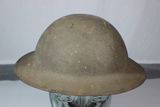 US WW1 78th Infantry Division Painted Helmet.  W/ Liner & Chinstrap.