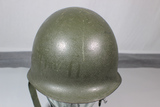 US Vietnam War Era M1C Airborne Paratrooper Jump Helmet. Complete W/ Liner. Good Condition.