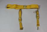 Post Cold War Russian Naval Officer's Parade Dress Belt W/ Dagger Hangers.