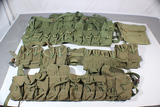 Chinese SKS & AK-47 Chest Rig & Pouch Lot.  5 Chest Rigs. 1 Pouch.