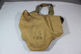 US WW2 Gas Mask In Bag.