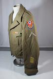 US WW2 ADSEC Communications Zone Ike Uniform Jacket. Beautiful Victory Stitching!