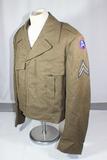 US WW2 Era 3rd Army Ike Jacket. Nicely Tailored.