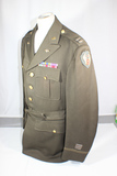 Outstanding US WW2 9th Army Air Force Tailor Made Class A Uniform Jacket. Bullion Patch