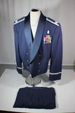 US Desert Storm Era Air Force Officer's Tuxedo Uniform W/ Pants. Tailor Made.