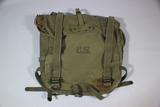 US WW2 M45 Upper Back Pack Bag. Dated 1945.