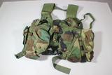 US Post Desert Storm Navy Seal Molle Assault Vest.