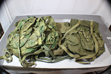 Lot Of 4 Post Vietnam 1980's Combat Field Back Packs. All Used.