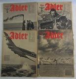 4pcs-Scarce WW2 Period German