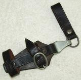 Rare Early SS Dagger Vertical Hanger-SS Marked W/1934 Date-Assmann Clip