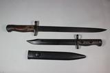WW2 British Carbine Bayonet & Post War Australian L1A1 Bayonet For The FAL.