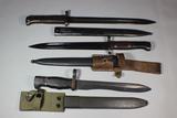 World Lot - 3 Bayonets. Czech VZ-24, Spanish Bolo , & Yugoslavian M48.