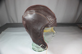 US WW2 NAF 1092 USN Navy Leather Flight Helmet. Mint Condition.