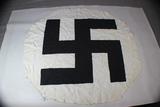 WW2 German Swastika Flag Center. Flag Removed.  29