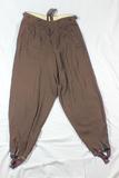 WW2 Italian Made Brown Gabardine Pantaloons. Size Marked 46. NSKK/Hitler Youth
