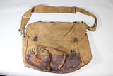 US WW1 Or Earlier Mussette Bag Knapsack. Named. Machine Gun Company.