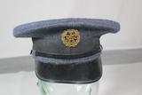 British Korean War Royal Air Force RAF Enlisted Visor Cap.