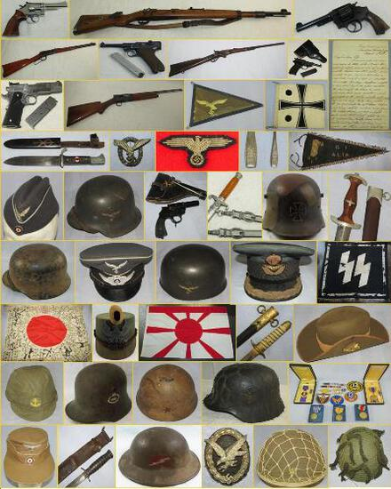 MILITARY COLLECTIBLES AUCTION  JAN. 21, 2020 5pm
