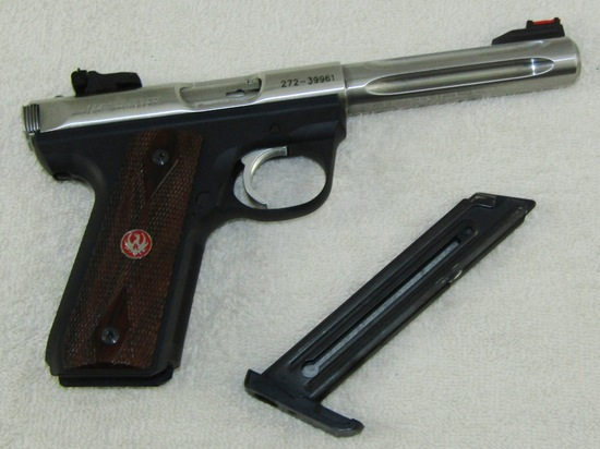 Ruger MKIII Hunter .22 Cal.  Target Model Pistol