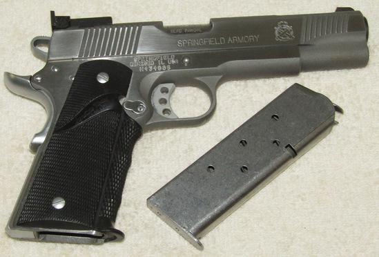 Springfield Model 1911-A1 .45 Cal. Pistol