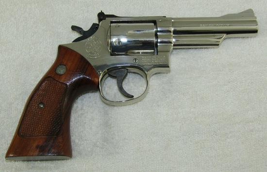 Smith & Wesson Model 19-4 .357 Magnum Revolver-Pre 1982 Production