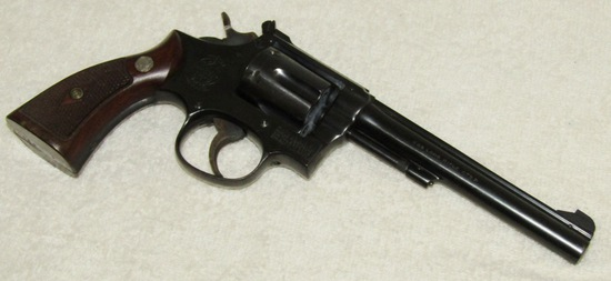 Mid 1955 Production Smith & Wesson 5 Screw .22 Cal. Revolver