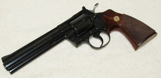 "Colt Model ""PYTHON""  .357 Magnum Revolver-Blued Finish-1979 Production Year"