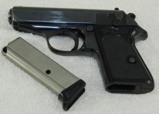 Walther Banner Made In USA Model PPK 9mm/.380 ACP Semi Auto Pistol-Interarms