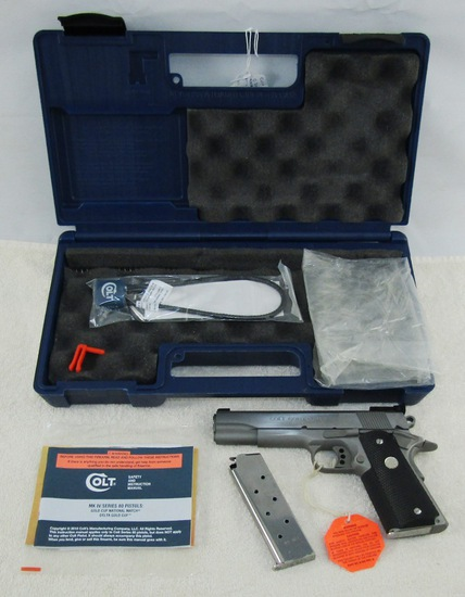 """Colt """"Gold Cup Trophy"""" Model M1911 .45 Semi Auto Pistol-NIB"""
