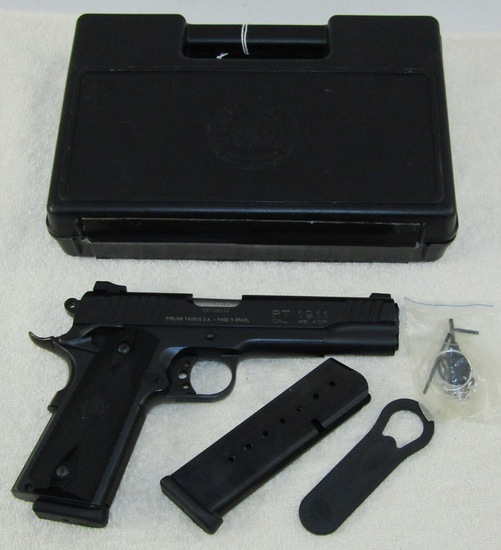 Taurus Model PT 1911 .45 Cal. Pistol-NIB