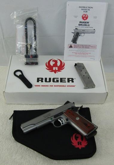 Ruger Model SR1911 .45 Cal. Semi Auto Pistol-NIB
