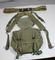 US Vietnam War Suspenders, Belt, & Butt Pack.