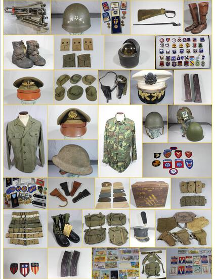 MILITARY COLLECTIBLES AUCTION  FEB. 25, 2020 5pm