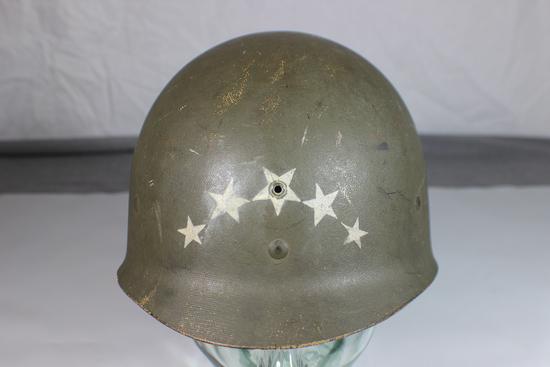 US WW2 Westinghouse M1 Helmet Liner. 5 Star General?