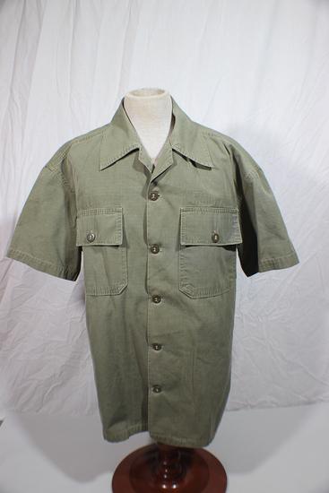 US Vietnam War Theater Made Short Sleeve Rip Stop Combat Jacket.