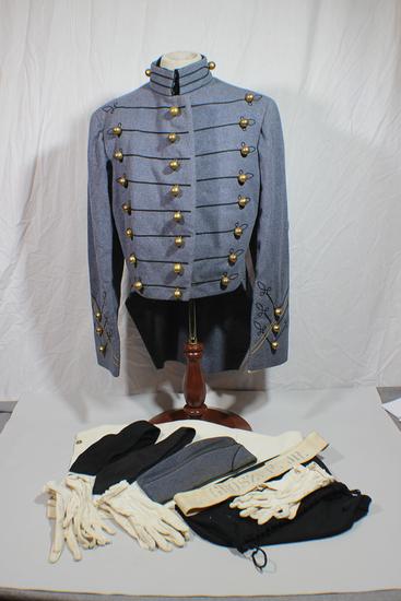US WW2 Era Named West Point Cadet Dress Uniform W/ Pants & Accessories.