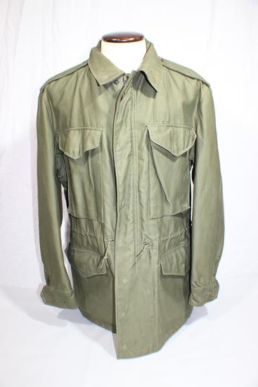 Rare & Expensive US Korean War Era M-51 Field Jacket Parka Shell.