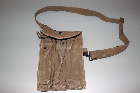 US WW2 Rare Prototype Thompson Magazine Pouch!