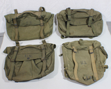 Lot of 4 US WW2 Combat Cargo Field Packs. Nicely Marked. Good Condition.