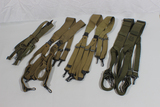 Lot of 4 US WW2 M1936 Suspenders & USMC Suspenders. Very Nice! EARLY Dates!