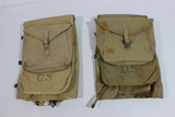 Lot of 2 RARE British Made US WW2 Army M-1928 Haversack Back Packs.