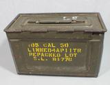 US WW2 50 Caliber Ammo Can.