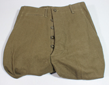 Rare Pair of US WW2 Wool Field Combat Trousers.  Unworn Condition. Size 31 X 33 1945.
