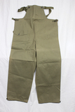 US WW2 Army Foul Weather Rain Pants. Overalls. Size Small. 1944.