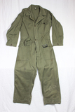US WW2 Late War HBT Herringbone Twill Coverall. Size 42R. Nice. No Makers Tag.