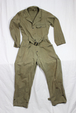 US WW2 Army HBT Herringbone Twill Coverall. 13 Star Metal Buttons. 36 R.