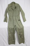 US WW2 Army HBT Coverall. Named. Heavily Worn Condition.