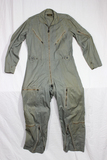 US Pre Vietnam War Very Light Man's Flying Suit. 1958 Dated. Size Medium.